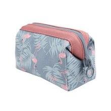 c57688001 Nueva llegar Flamingo, bolso cosmético, las mujeres Necessaire bolsa de  viaje resistente al agua portátil de maquillaje bolso ne.