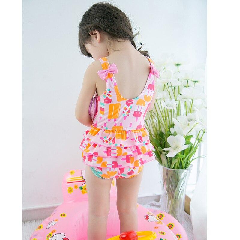Stroje kąpielowe dla dzieci Girls One Piece Stroje kąpielowe dla - Odzież dla niemowląt - Zdjęcie 2