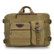 High Quality Canvas Men Bag Fashion Multifunction Men's Travel Bags Printing Handbag Men Messenger Shoulder Bag GHb30