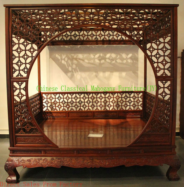 Chinese classical mahogany furniture rosewood furniture Bedroom ...