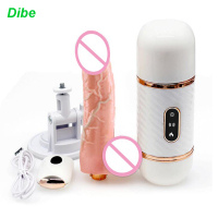 Dibe 7 Speeds Telescopic Dildo Vibrator sex toys for woman Estimulador clitoris G spot massager Suction cup Dildo huge sex toy