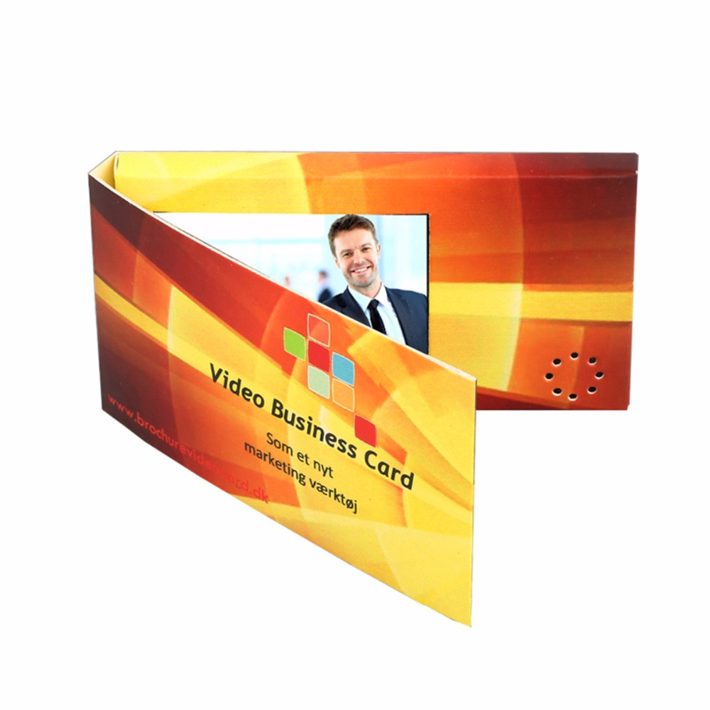 Professional Customized 24 Inch Video Brochure Video Greeting Card