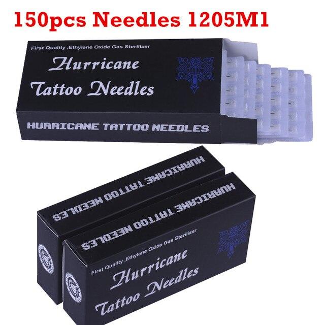 Tattoo Needles 150PCS 1205M1 Sterilized tattoo needles magnum Tattoo ...