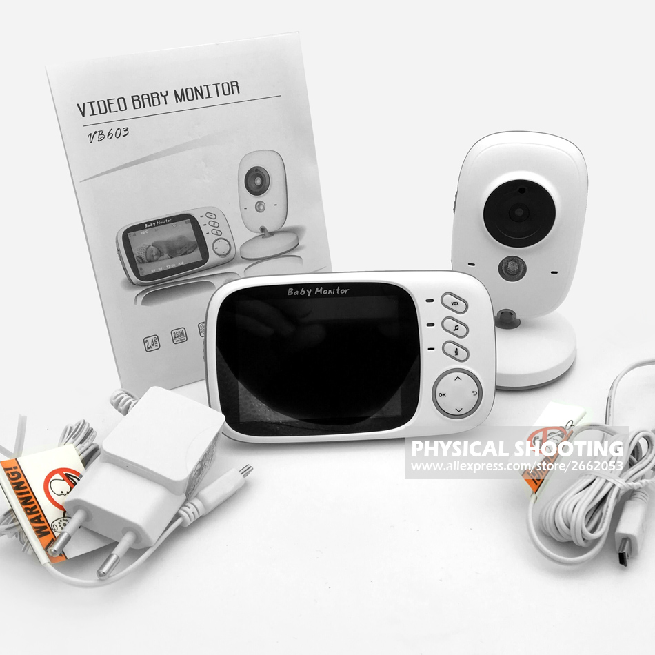 Camera Baby Monitor Security Cameras Receiver with High-definition Digital Baby Camera (11)