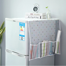 050 многофункциональная Пылезащитная Крышка для холодильника, многофункциональная сумка для хранения, кухонный органайзер, подвесная сумка 130*55 см