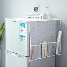 050 Multi-function Fridge Refrigerator Dust Proof Cover Multi-Use Pouch Storage Kitchen Organizer hanging bag 130*55cm