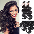 Halo Lady Hair 28 30 32 34 36 38 40 inches Indian Virgin Human Hair Body Wave 2 Bundles Lot 7A Indian Human Hair Can Be Dyed