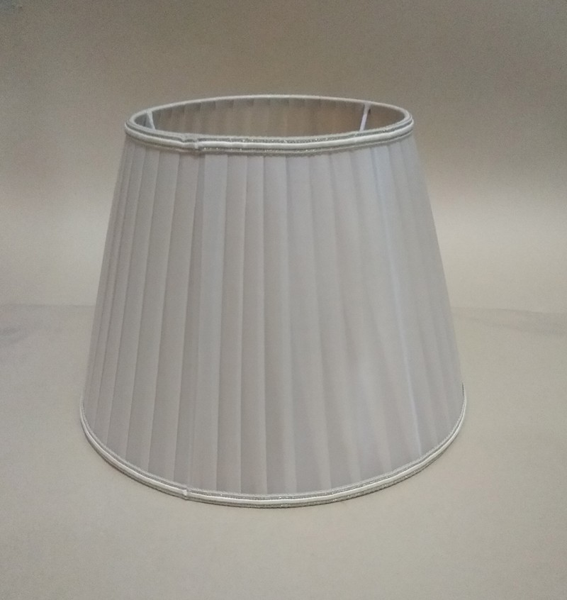Lamp shade for table lamps Lace Abstract simple Pattern Textile Fabrics Fashionable Decorative beige straight stripe lampshad