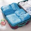 Упаковка кубики мужчины дорожные сумки ручной клади вещевой мешок женщин maletas де viaje дизайнер вести sacoche homme nécessaire viaje