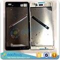 Черный/Белый Оригинальный Новый Передняя Ближний Жкд Лицевой Панели корпус + Топ/Обложка Для SONY Xperia M5 E5603 E5606 замена