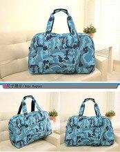 2016 Waterproof Sport Bag For Women Fitness Sport Bag For Gym Bags Nylon  Camouflage Shoulder Duffle Beach Travel Bag for female