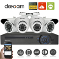 4CH DVR 960 P AHD Câmeras De Vigilância De Vídeo 24 IR Leds Noite visão Bala Cúpula CCTV Kits de Segurança Em Casa Sistema de Câmera Full HD