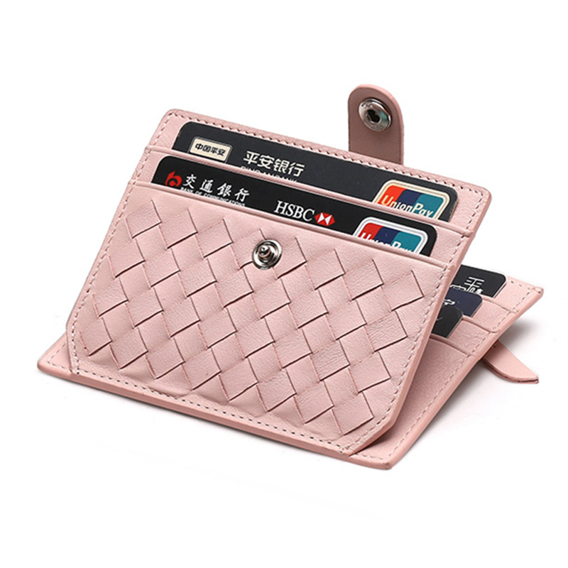 New Fashion Genuine Leather Card Holder Capacity Zipper Female Fashion Men Women ID Card Wallets With Coin Purse Slim and Mini leather look mini skirt with zipper details