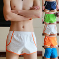 Men's loose boxer shorts Underwear Low Waist Trunks Shorts Home Furnishing   fitness underpants for men