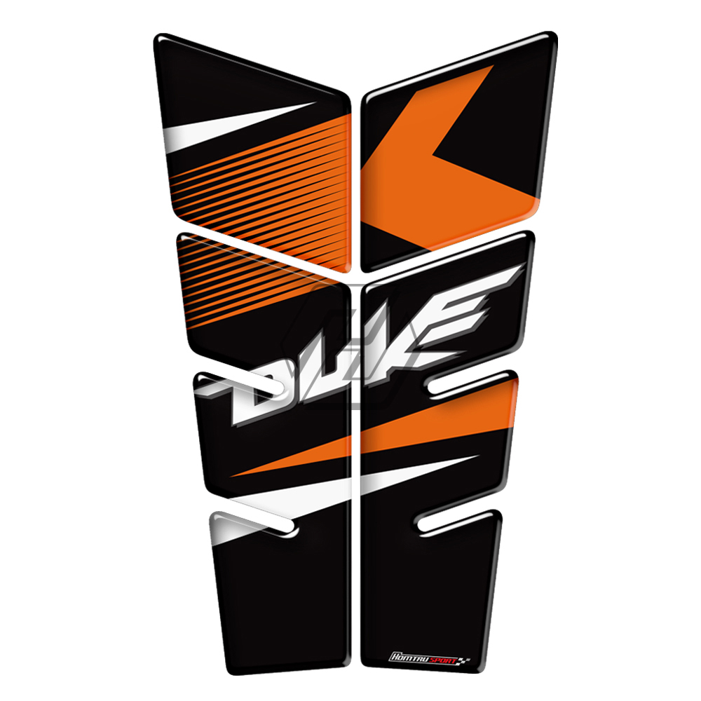 3D Motorcycle Tank Pad Protector Decal Stickers Case For KTM 390 200 690 125 Duke Tank