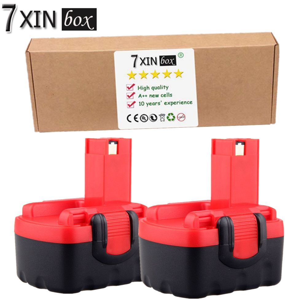 7XINbox 2pcs 14.4V 3000mAh Battery BAT038 BAT040 BAT041 BAT140 BAT159 For Bosch 3454SB 3660CK 2 607 335 264 / 2 607 335 685 panku 14 4v 3 0ah replacement battery for bosch bat038 bat040 bat041 bat140 bat159 bat041 2607335534 35614 13614 3660k 3660ck
