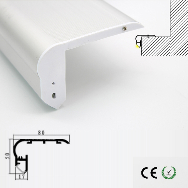 High Quality Aluminum Led Channels Recessed Stair Lights In LED Lamp Stair  Lighting Fixtures Indoor Used