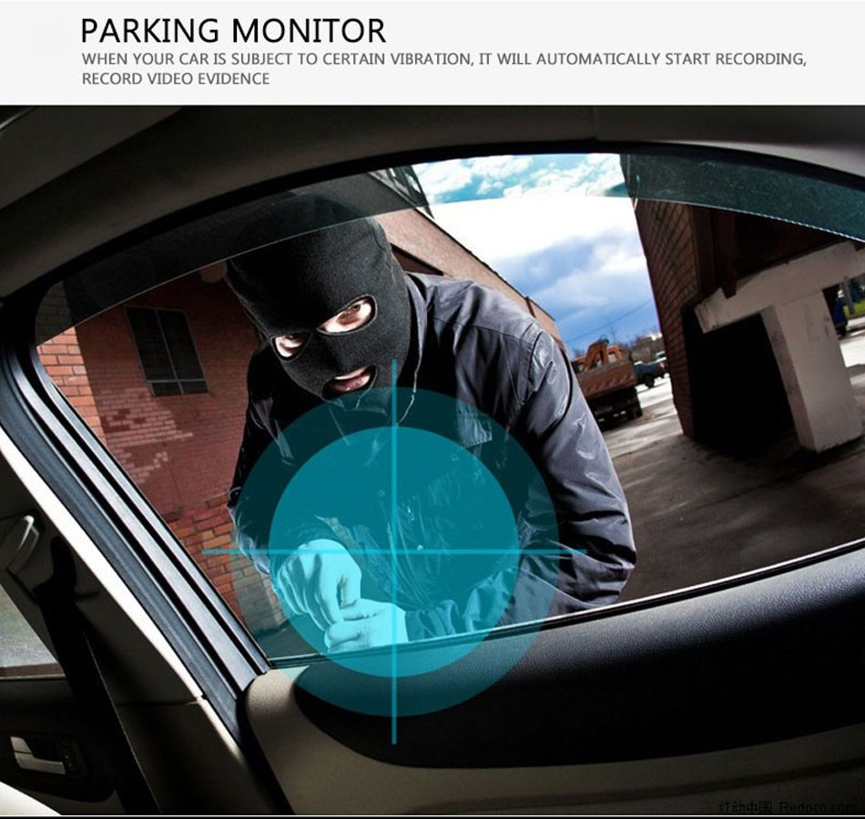 Anytek Dash Cam A88 2.7 Inch DVR Full HD 1080P Car Camera Novatek 96220 Parking Monitor Registrator Video Recorder Night Vision DVRS -09