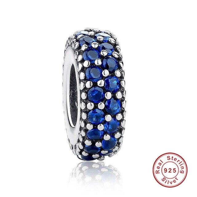 pandora charms spacer blue
