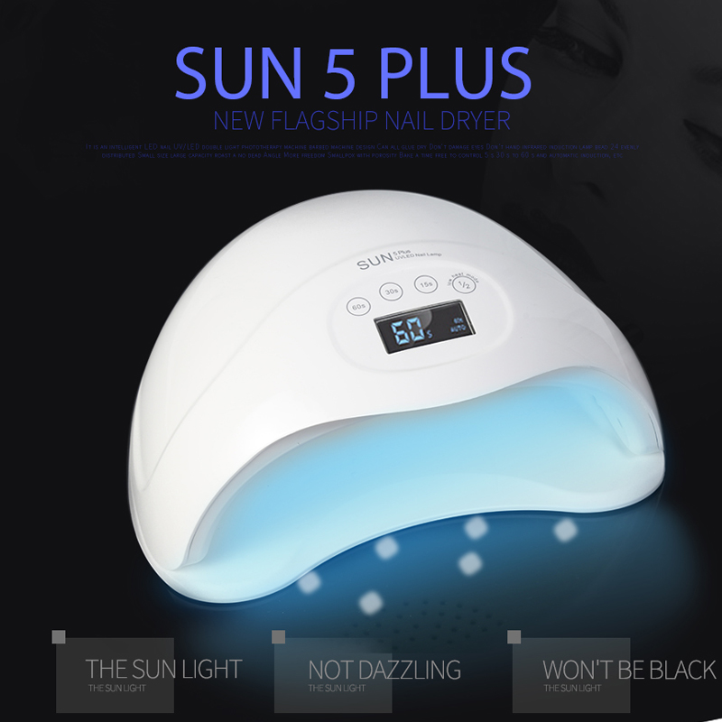 Sun5 Double Led Ongles Uv W Dorame Sèche 48 Lampe Nail Plus kZiTuXPO
