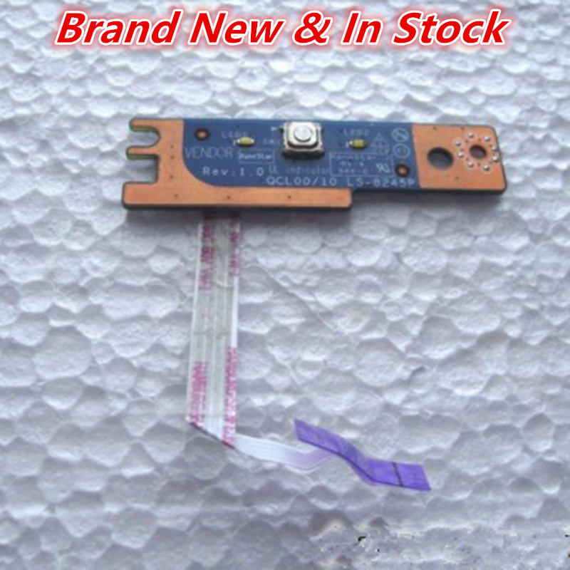 US $8 6 |Power Button Board Switch Board Power Board Cable For DELL 15R  5520 5525 7520-in Computer Cables & Connectors from Computer & Office on