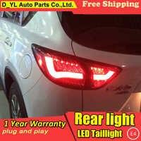 D_YL Auto Styling für Mazda CX-5 Rückleuchten Taiwan Sonar Mazda CX-5 LED Rücklicht Hinten Lampe DRL + Bremse + park + Signal led licht