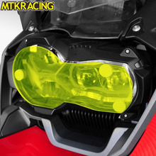 MTKRACING R1200GS Motorcycle Acrylic Headlight protection sheet Screen Cover For BMW 2013-2018