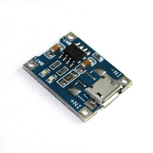 Micro USB 5V 1A 18650 TP4056 Lithium Battery Charger Module Charging Board With Protection Dual Functions DIY Starter Kit
