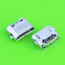 25PCS Micro USB Charging Port Dock Connector Socket For Huawei Ascend 4X 4X Y6 4A P8 C8817 P8 max P8 Lite 4C 3X Pro G750-T20
