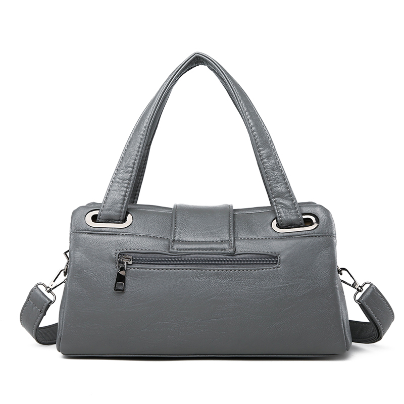 Image 5 - Fashion Pillow Women Handbags American Popular Purple Bag New Simple Leisure Lady Shoulder Bag Casual Personality Messenger BagShoulder Bags   -