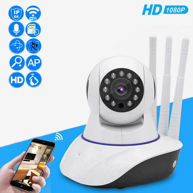 1080P HD IP Camera Home Wireless Security Surveillance Wifi Camera Two Way Audio Night Vision Baby Monitor CCTV Camera Outdoor-in Surveillance Cameras from Security & Protection    1
