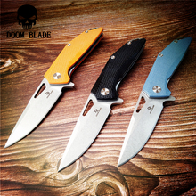 203mm 100% D2 Blade Ball Bearing Knives Folding Knife G10 Handle Outdoor Camping Hunting Survival Pocket Knives Utility EDC Tool уголок пвх 30х30х2700мм бук светлый