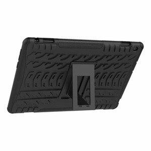 Image 5 - Чехол для Huawei MediaPad M3 Lite 10 10,1 дюйма, BAH W09 BAH AL00, чехол повышенной прочности, гибридный, прочный Чехол + ручка