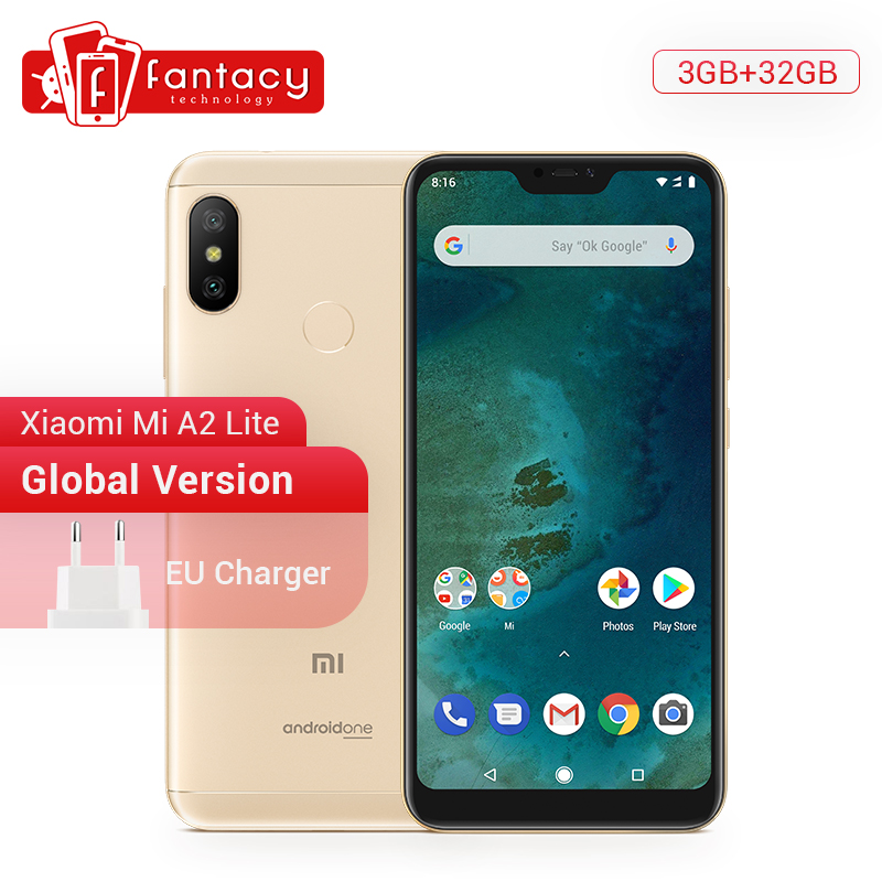 Global Version Xiaomi Mi A2 Lite 3GB 32GB 5.84