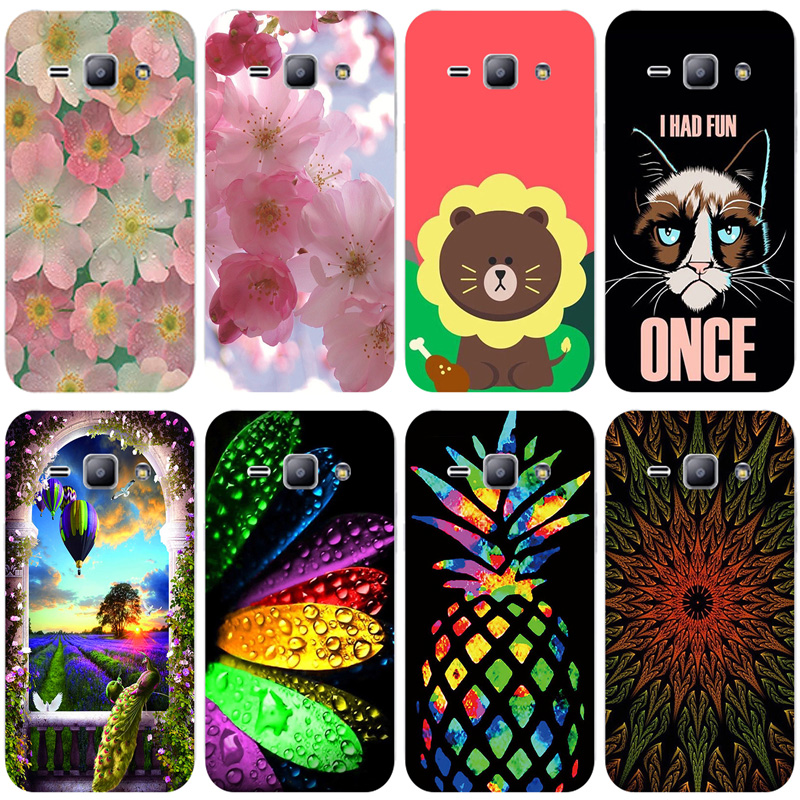 Soft TPU Print Case for Samsung Galaxy J1 SM-J100FN Cover Cases for Samsung Galaxy J1 J100 J100F <font><b>J100H</b></font> J100FN J100G image