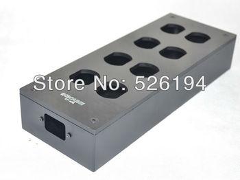 Acrolink CF-408 carbon fiber 8ways Power socket case