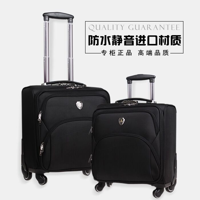 Luggage Universal-Wheels Travel 16 Oxford-Fabric Phalanger Commercial High-Quality