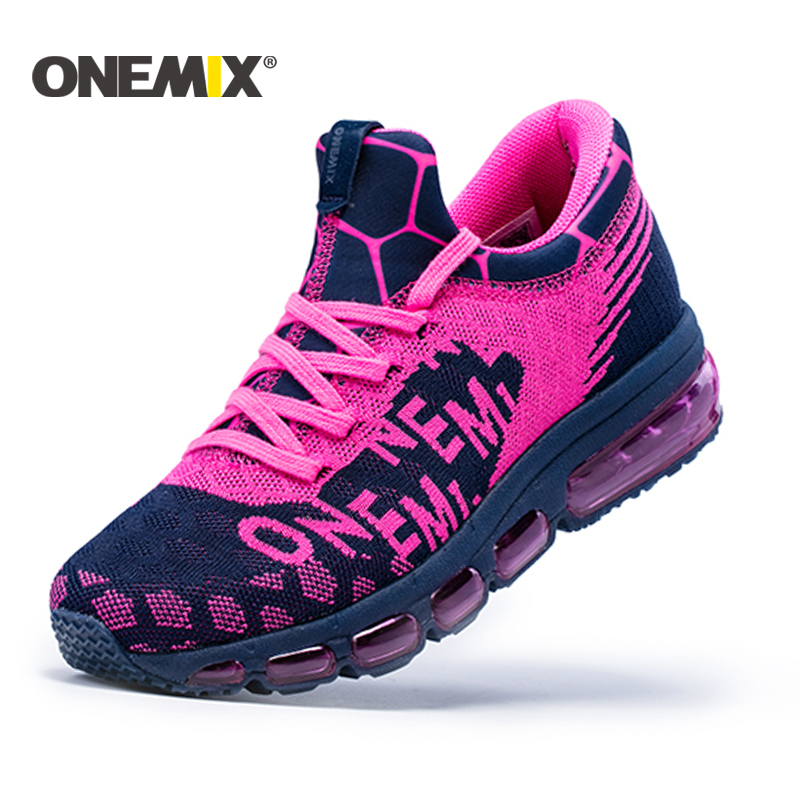 ONEMIX 2017 women running Shoes Air Cushion Outdoor Sport shoes for woman Athletic Shoes zapatos de hombre women jogging shoes camel shoes 2016 women outdoor running shoes new design sport shoes a61397620