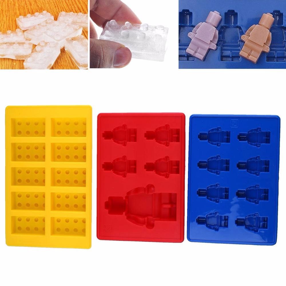 3 Set Ice Cube Tary Mold Beer Wine Whisky Ice Mould Maker Bar Tool Silicone Jelly Molds Kitchen Accessories Forma De Gelo
