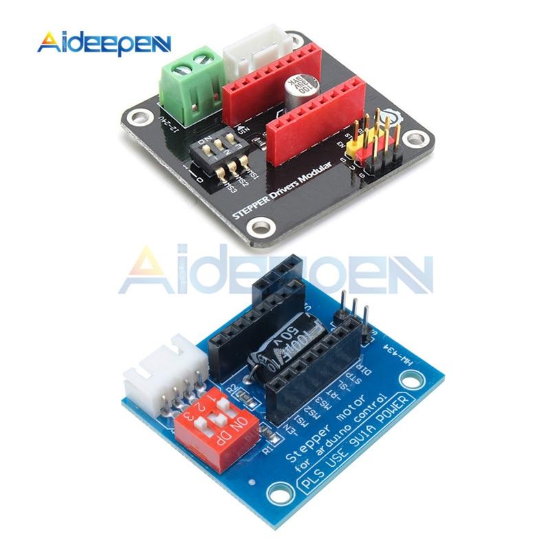 DRV8825 A4988 42 Stepper Motor Driver Controller Expansion Shield Module Expanding Board For Arduino DC Motor Drivers 3D Printer