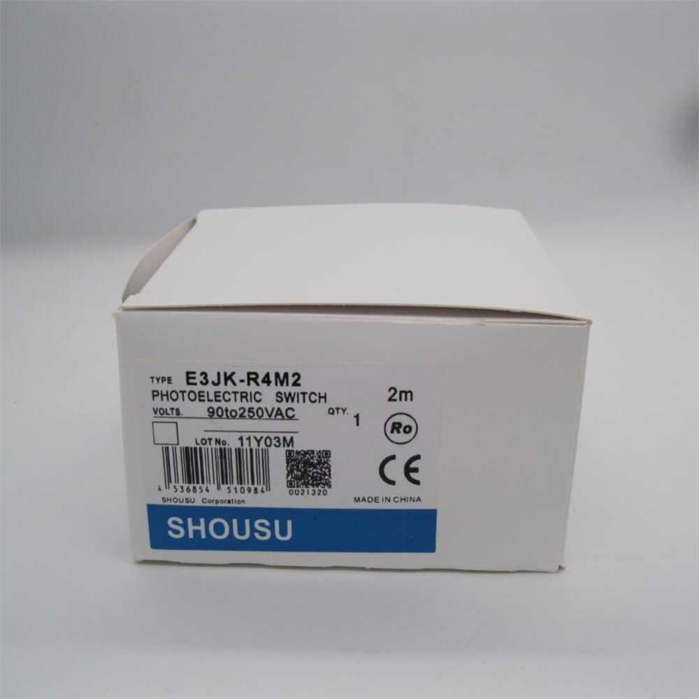E3jk-r4m2 Новый фотоэлектрический Сенсор переключатель 90-250vac 5 проводов высокое качество с Отражатели плиты гарантия на один год