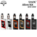 Original Smok Alien Kit 220W vape mod with 3ml TFV8 Baby Tank Atomizer Electronic cigarette vape kit vs Xcube Ultra Vaporizer