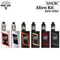 Original smok kit 220 w vape mod com 3 ml tfv8 alienígena bebê Tanque Atomizador cigarro Eletrônico vape kit vs Xcube Ultra vaporizador