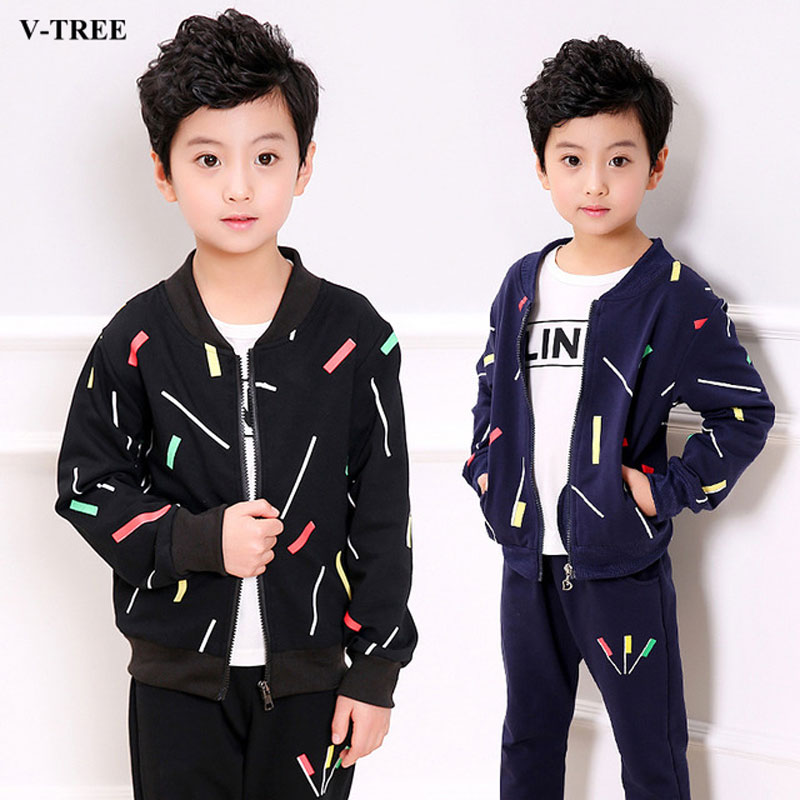 Spring Autumn Children Clothing Sets 3pcs/set Kids Tracksuits 4-12T Teenager School Sports Suits Boys Clothes Sets kids sport suits boys girls tracksuits children clothing baby infant outfits 4 color fashion sets 2018 spring autumn kid clothes