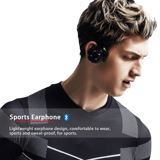 398d9c91c14 PLUFY Sports Bluetooth Headset Wireless Headphones Running Bluetooth  earphone Radio MP3