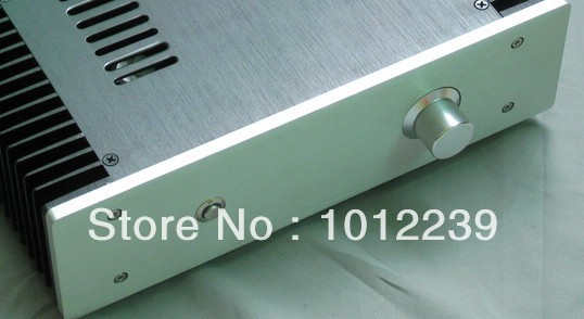 ФОТО A small classic 3209 chassis Amp chassis Aluminum chassis CPI 15W Class A amplifier chassis