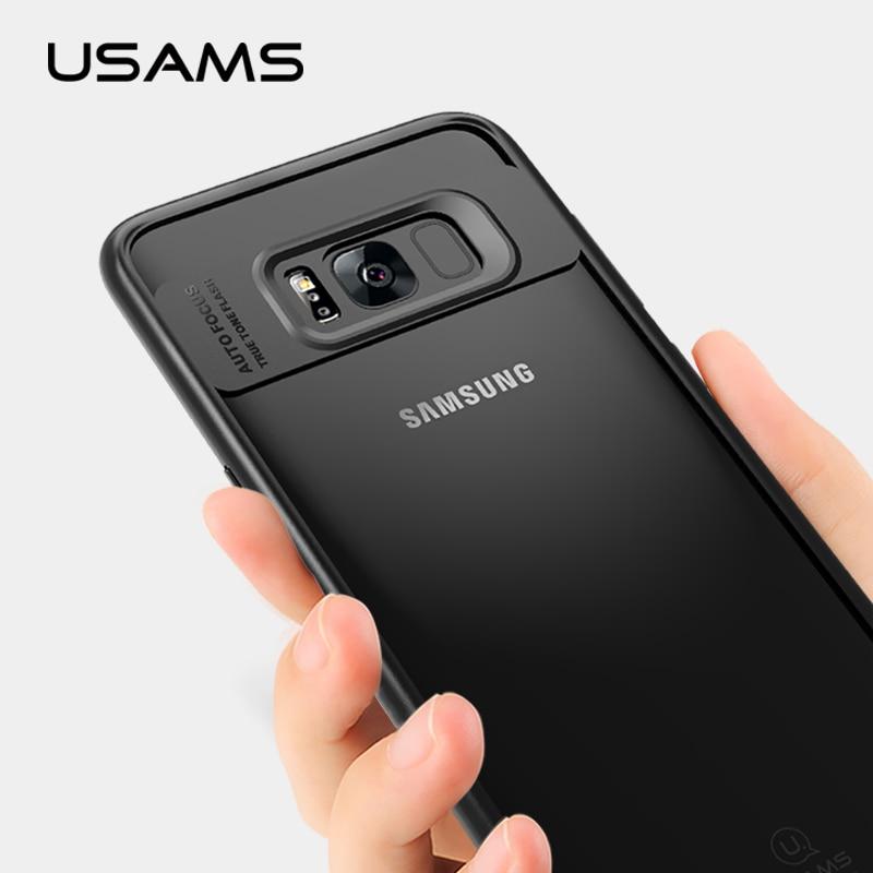Usams original phone case para samsung galaxy s8 case case para samsung galaxy s