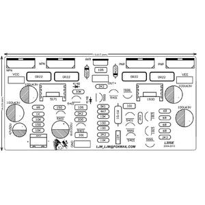 Image 4 - 2 sztuk L20 SE 350W płyta wzmacniacza audio TOSHIBA A1943 C5200 dwukanałowe wzmacniacze diy zestaw i gotowa płyta
