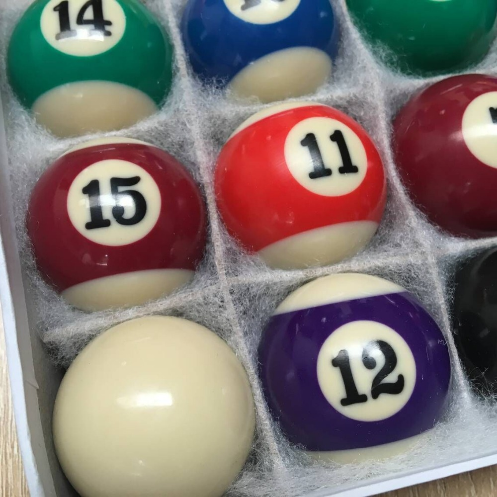 pool what table billiard of balls made with are snooker shot