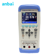 Buy online Precision Handheld LCR Digital Meter ,Portable LCR Tester Meter Frequency 100Hz 120Hz 1kHz 10kHz 100kHz AT826